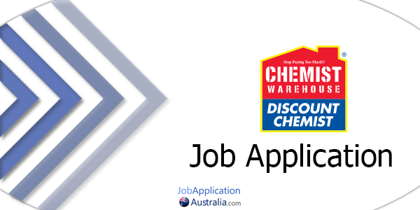 Chemist Warehouse Job Application