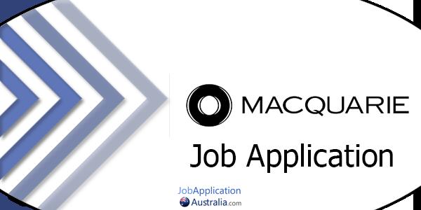 Macquarie Job Application