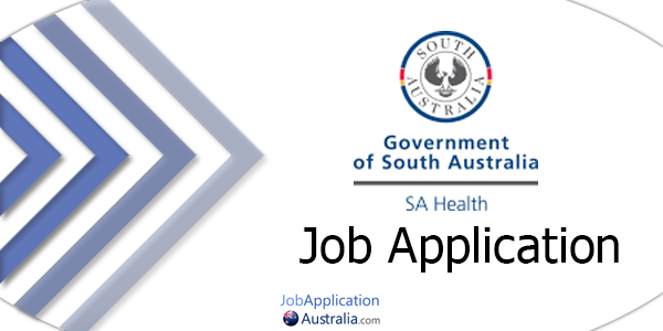 SA Health Job Application