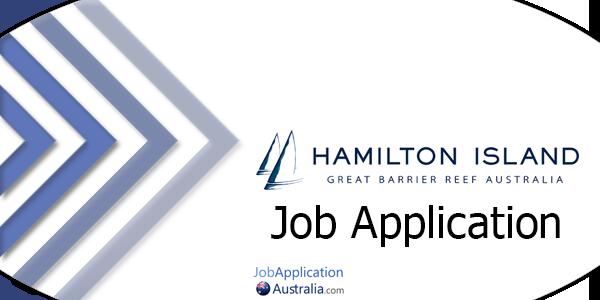 Hamilton Island Job Application