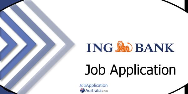 ING Bank Job Application