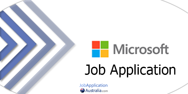 Microsoft Job Application