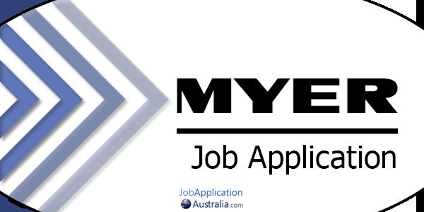 Myer Job Application