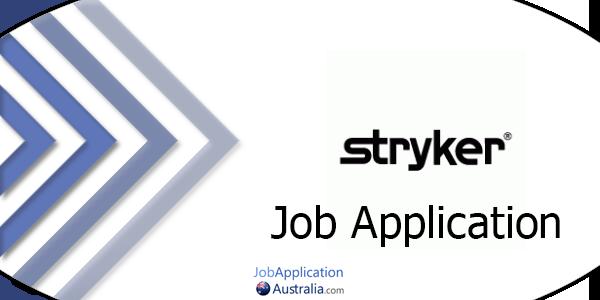 Stryker Job Application