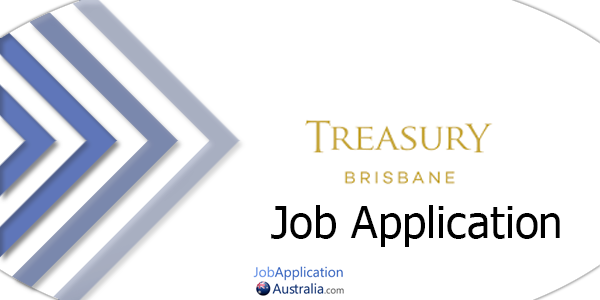 Treasury Brisbane Job Application