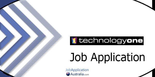 TechnologyOne Job Application