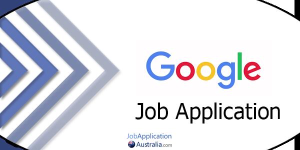 Google Job Application