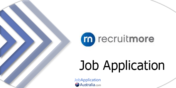 Recruitmore Job Application