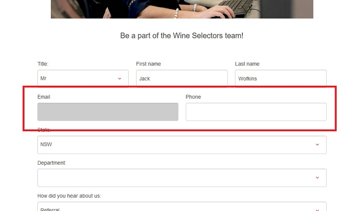 Wine Selectors Job Application (How to Apply Step 3)
