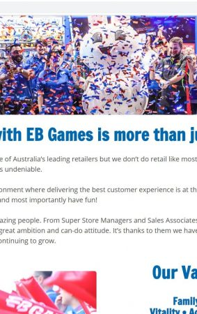 EB Games Job Application (How to Apply Step 1)