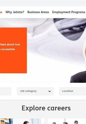 Jetstar Airways Job Application (How to Apply Step 1)