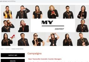 Myer Job Application Online (How to Apply Step 1)