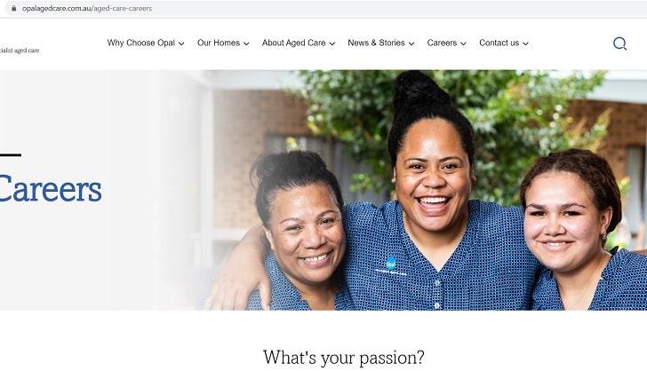 Opal Aged Care Job Application