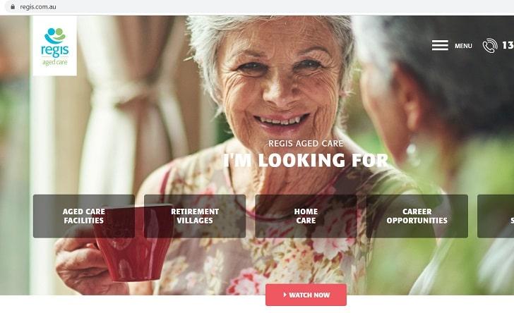 Regis Aged Care Job Application