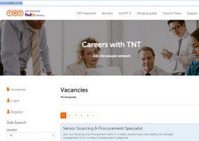 TNT Express Job Application