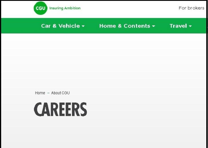 CGU Insurance Job Application