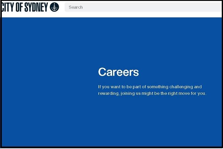 City of Sydney Job Application
