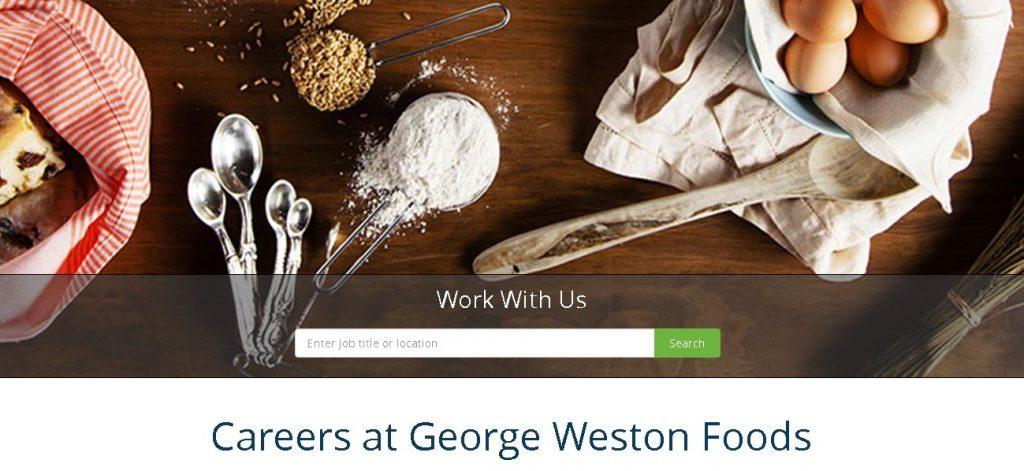 George Weston Foods Job Application