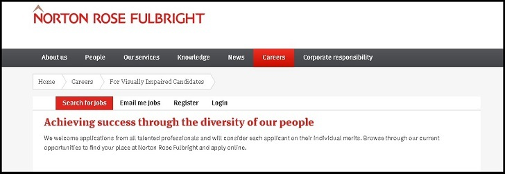Norton Rose Fulbright Jobs: Application Form Online & Careers