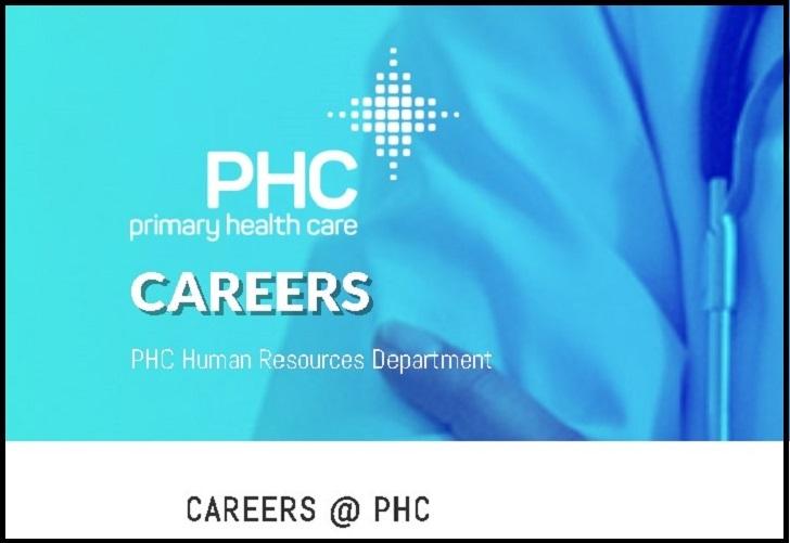 Primary Health Care Job Application