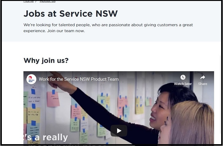 Service NSW Jobs: Application Form Online & Careers
