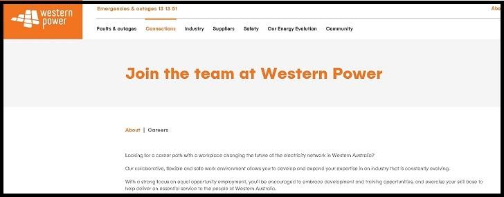 Western Power Jobs: Application Form Online & Careers