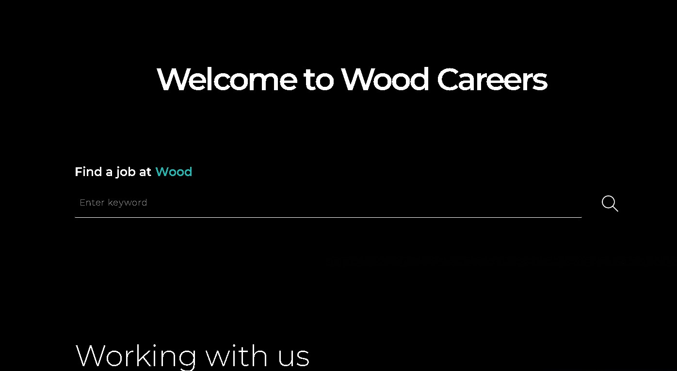 Wood Group Jobs: Application Form Online & Careers