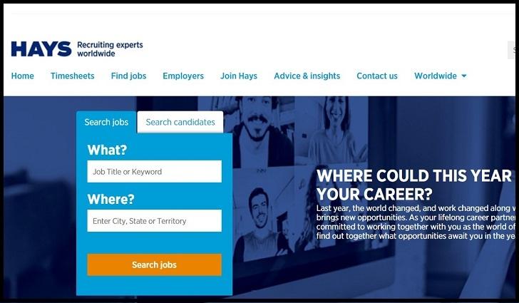 Hays Jobs: Application Form Online & Careers