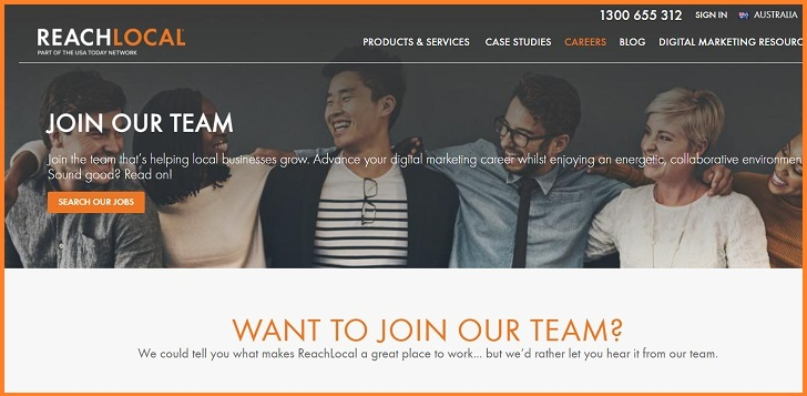 ReachLocal Jobs: Application Form Online & Careers