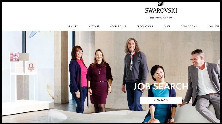 Swarovski Jobs: Application Form Online & Careers