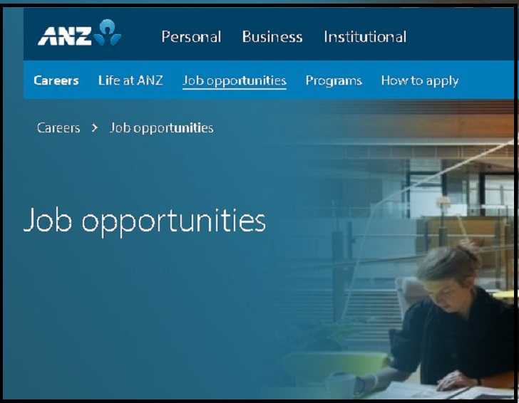 ANZ Bank Jobs: Application Form Online & Careers