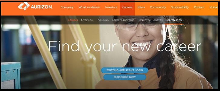 Aurizon Job Application Form Online & Careers