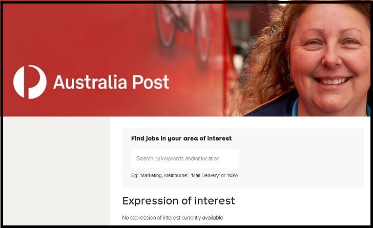 Australia Post Job Application Form Online & Careers