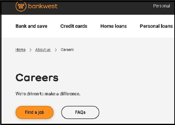 Bankwest Jobs: Application Form Online & Careers