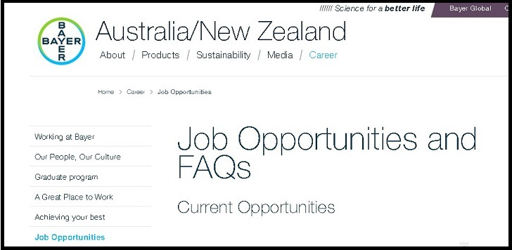 Bayer Jobs: Application Form Online & Careers