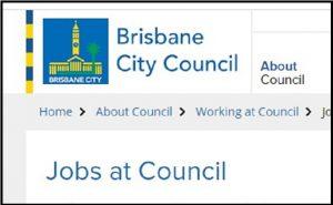 Brisbane City Council Job Application Form Online & Careers