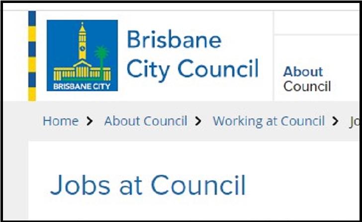 Brisbane City Council Job Application