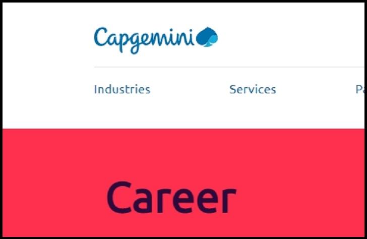 Capgemini Job Application Form Online & Careers