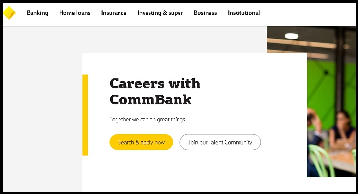 Commonwealth Bank Job Application Form Online & Careers
