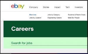 eBay Jobs: Application Form Online & Careers