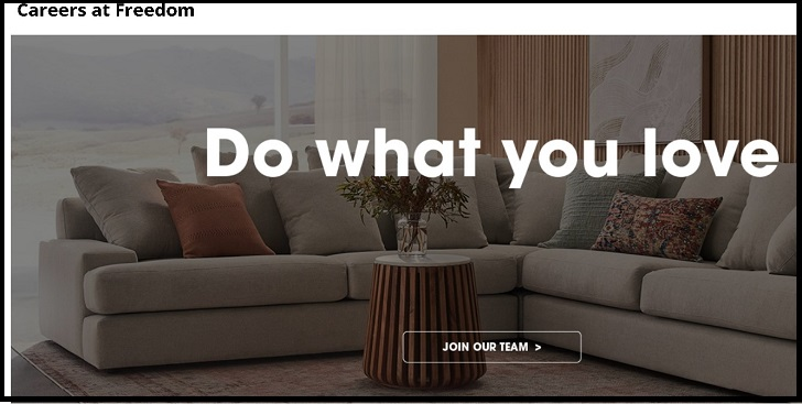 Freedom Furniture Jobs: Application Form Online & Careers