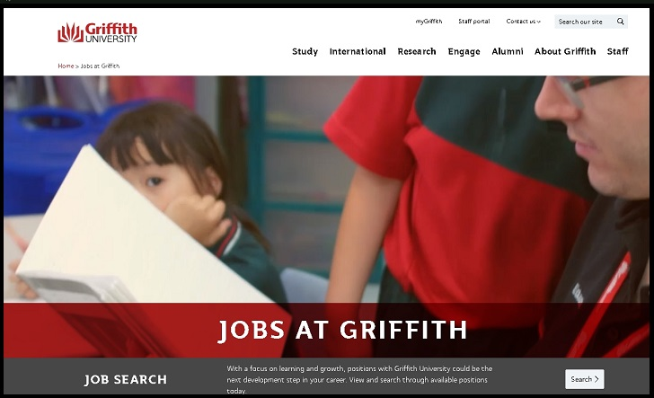 Griffith University Job Application