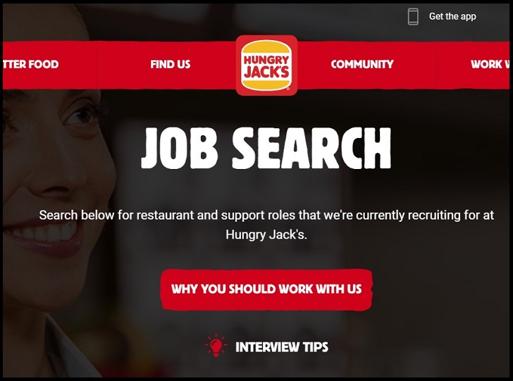 Hungry Jack's Job Application Form Online & Careers