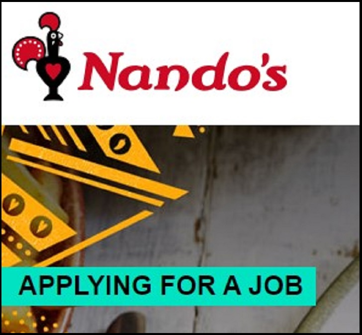 Nando's Job Application Form Online & Careers