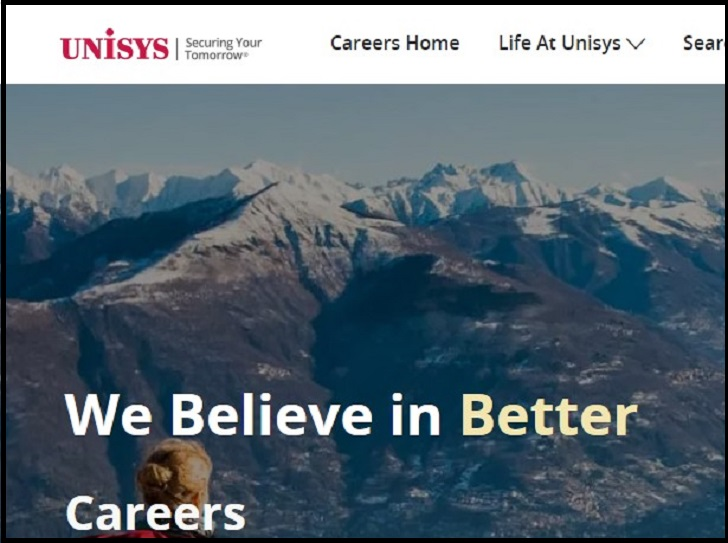 Unisys Job Application Form Online & Careers