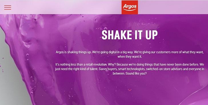 Argos Job Application Form Online & Careers