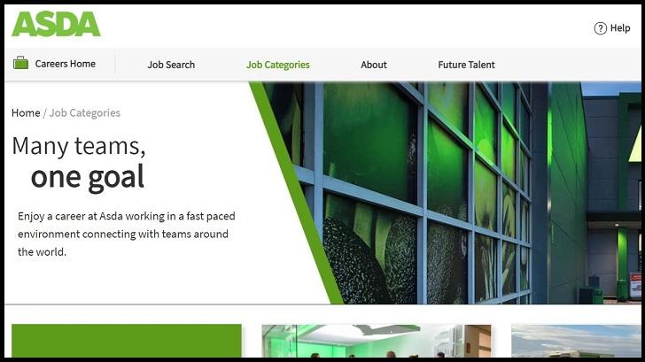 Asda Job Application Form Online & Careers