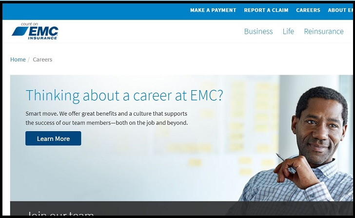 EMC Insurance Job Application Form Online & Careers