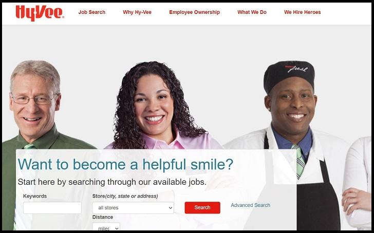 Hy-Vee Job Application Form Online & Careers