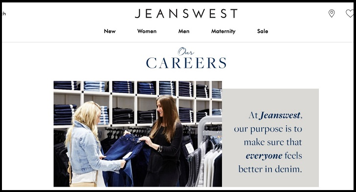 Jeanswest Job Application Form Online & Careers